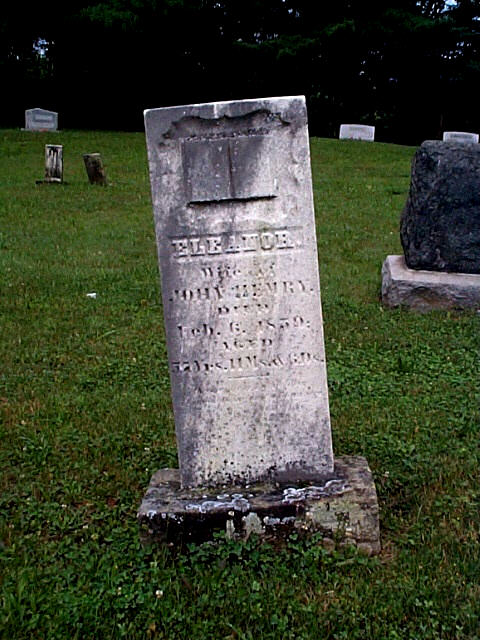 Eleanor Capper Hemry was the dtgr of Michael & Sarah Stewart Capper originally from Winchester, Frederick Co., VA area. She had 15 children!