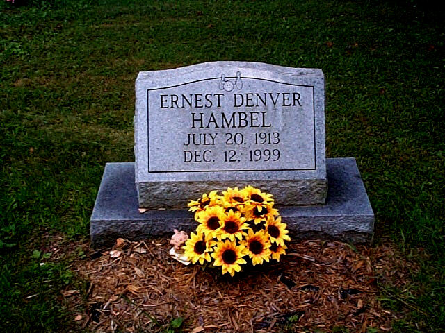 Ernest Denver Hambel was a proud Ohio resident who worked for the Highway Dept. He married Irene Briggs & Theresa Vida Smith. He had one daughter & many grandkids.